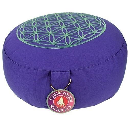 Coussin de méditation Fleur de Vie - Violet - 8192
