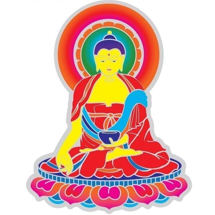 "Sticker ""Bouddha"" GM - 9658"