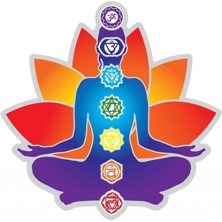 "Sticker ""Lotus Chakras"" GM - 9659"