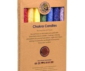 "7 Bougies de table parfumées ""Chakra"" - 688"