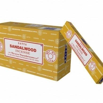 Encens Sandalwood Marque Satya - 998