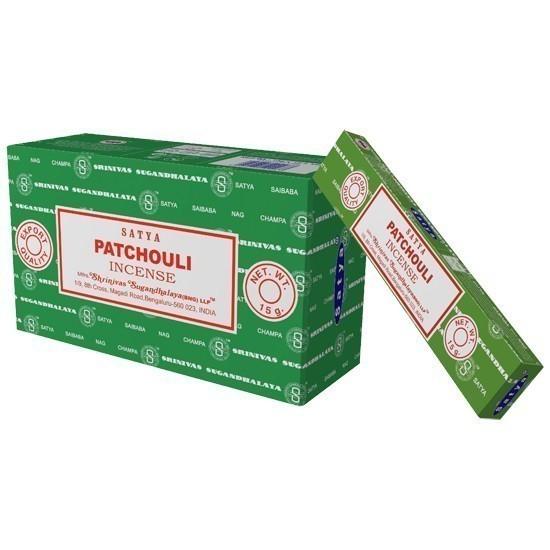 Encens Patchouli Marque Satya - 993