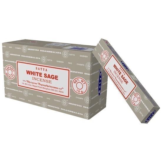 Encens White Sage Marque Satya - 1003