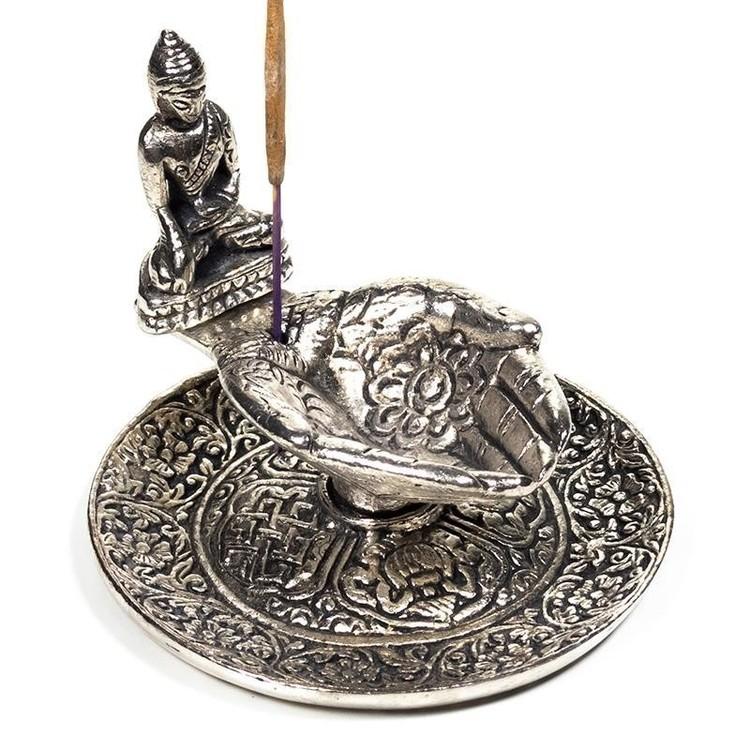 Porte-encens Mains et Bouddha - 2055