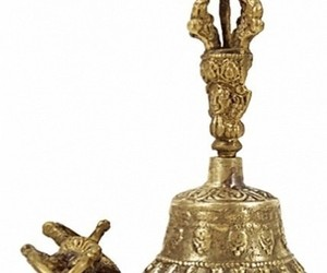 Cloche tibétaine 11 cm + Dorje - NE0278