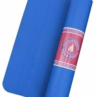 Tapis de Yoga Bleu - PVC - 2115