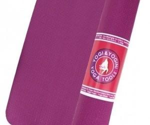 Tapis de Yoga Aubergine - PVC - 2118