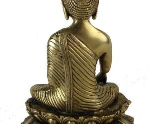 Bouddha Shakyamuni sur Lotus 20 cm - W9559