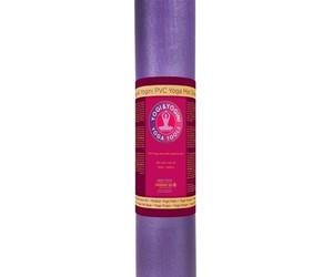 Tapis de Yoga - Violet PVC Deluxe - 2553