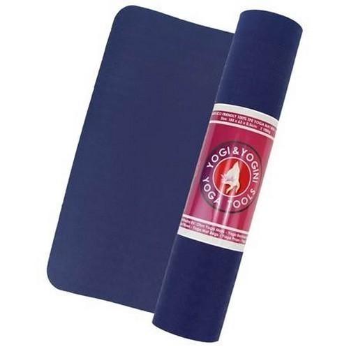 Tapis de Yoga Bleu 100% TPE - 2106