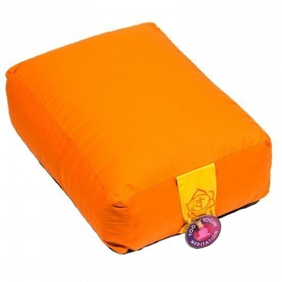 """Coussin rectangle """"Swadishtana"""" Orange - 8152"""