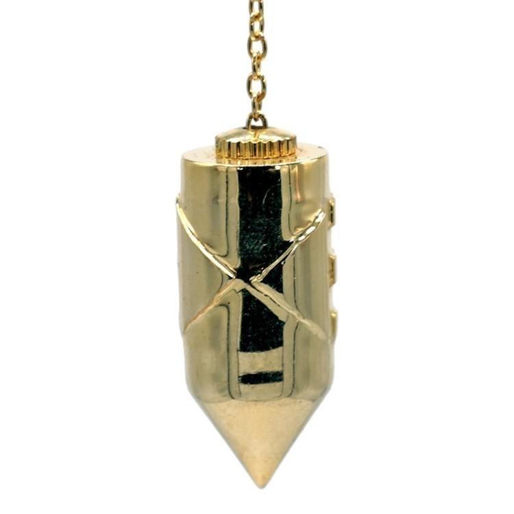 Pendule Atlantis - plaqué or - 16844