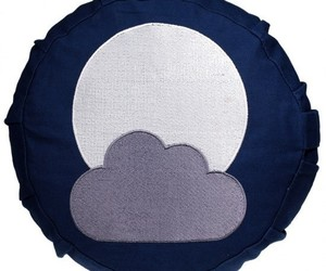Coussin de méditation Enfant - Lune/Nuage - 8263