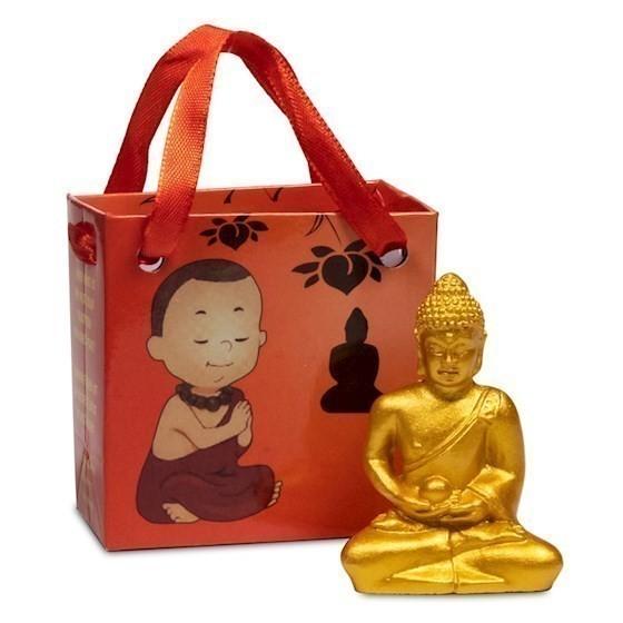 Mini Statuette Bouddha 5 cm en résine - 0109