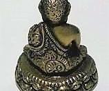 Statuette Bouddha en Laiton 5,5 cm -FI-298