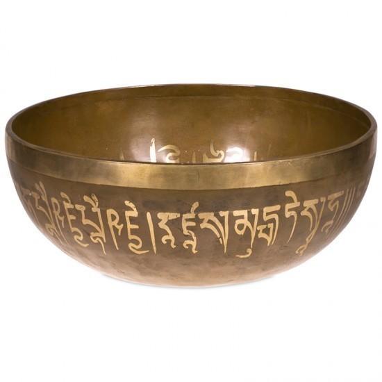 Bol chantant tibétain Tara Blanche 1700 g. - NE0238/1