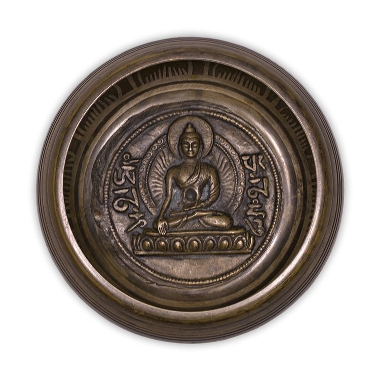 Bol Chantant décoré Bouddha - NE0273/12