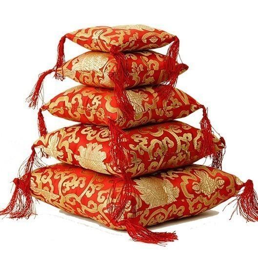 Coussin Bol chantant - Rouge 12 cm - 16310