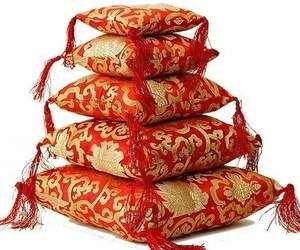 Coussin Bol chantant - Rouge 14 cm - 16311