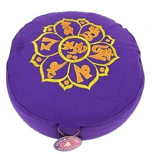 Coussin de méditation Om Mani Padme Hum - 8039