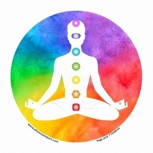Sticker Chakra et Méditation - S109