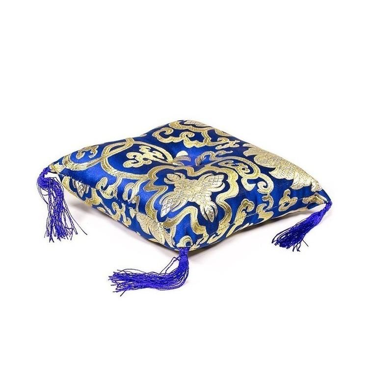 Coussin Bol chantant - Bleu 14 cm - 16316