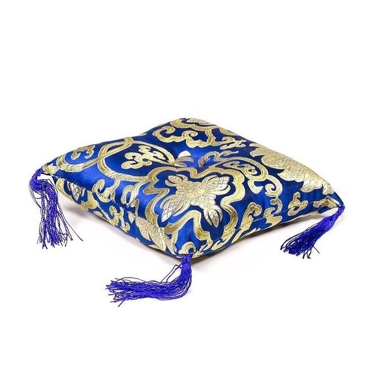 Coussin Bol chantant - Bleu 18 cm - 16317