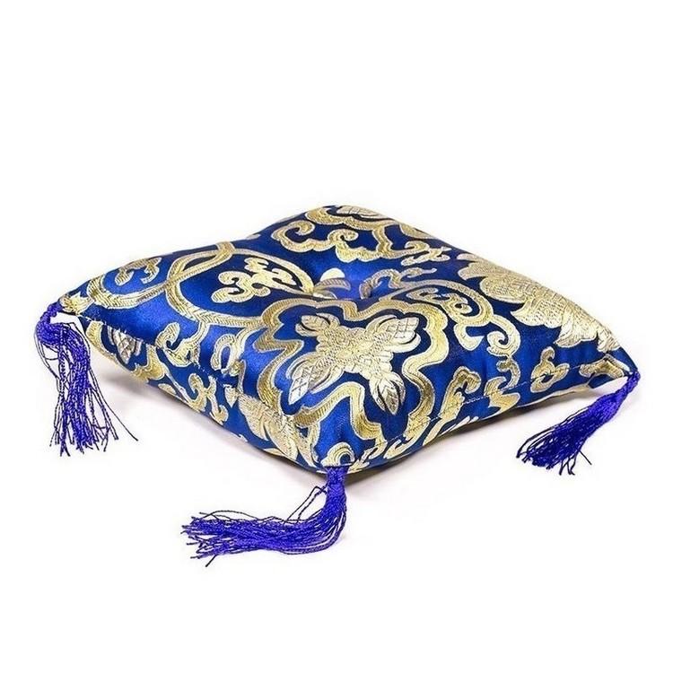 Coussin Bol chantant - Bleu 24 cm - 16319